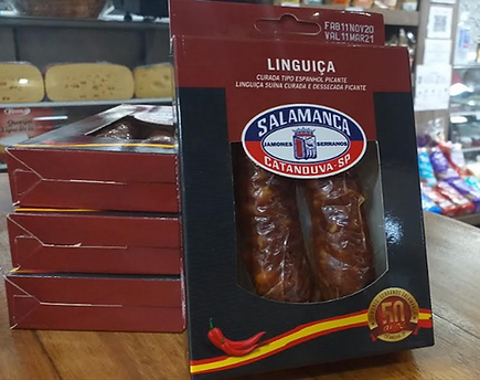 linguica tipo espanhol curada salamanca onde comprar