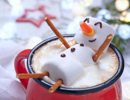 Snowman Hot Tub Cocoa