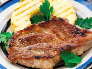 Pineapple Glazed Grilled Pork Chops