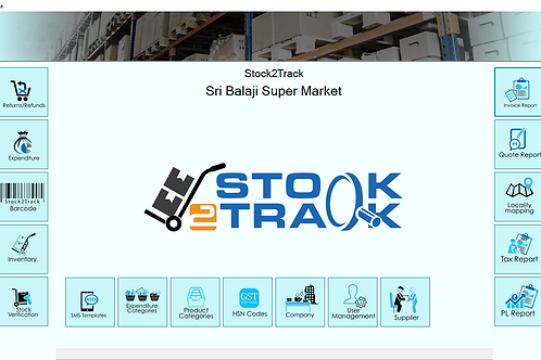 Stock2Track - Inventory, Billing and Customer Management Software
