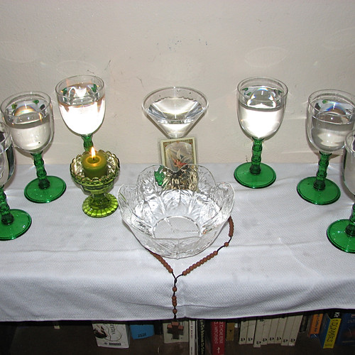 Spiritists and their bóvedas