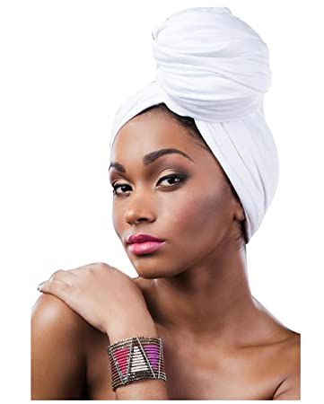 White headwrap