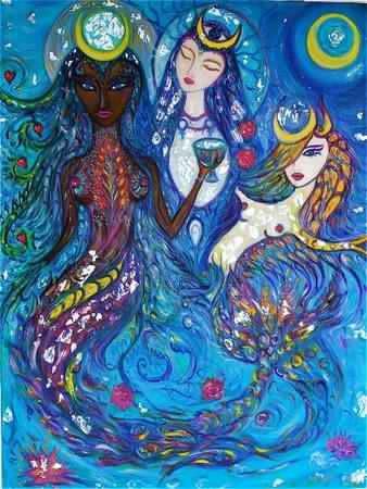 Yemayá y las albaceas de sus misterios: parte IV