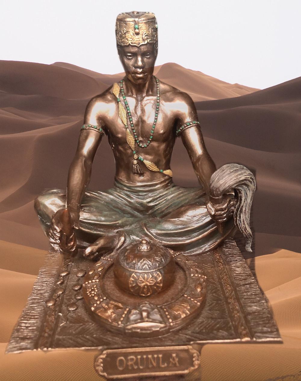 Orunla master of divination.