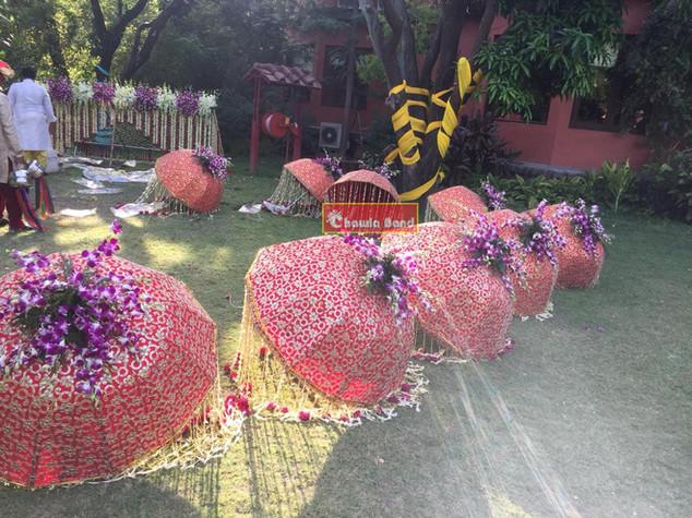 Flowerumbrellachawlaband