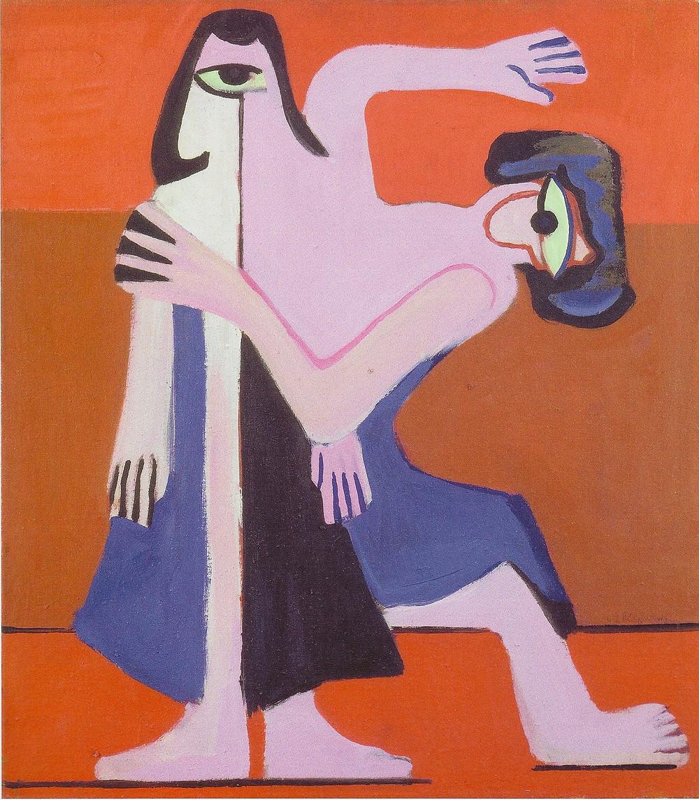 Kirchner, Ernst Ludwig - Mask Dance 1929