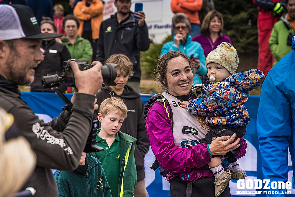 Chelsey Magness and Baby Max Reunited After 7-Day Race