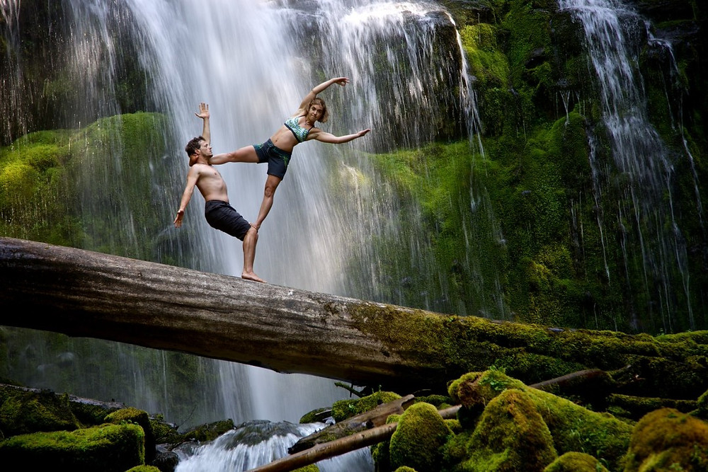 Jason and Chelsey Magness Acro Yoga