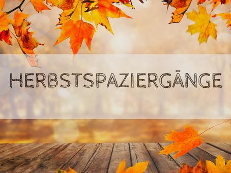 Wie wäre es mit einem gemütlichen Herbstspaziergang in geselliger Runde?