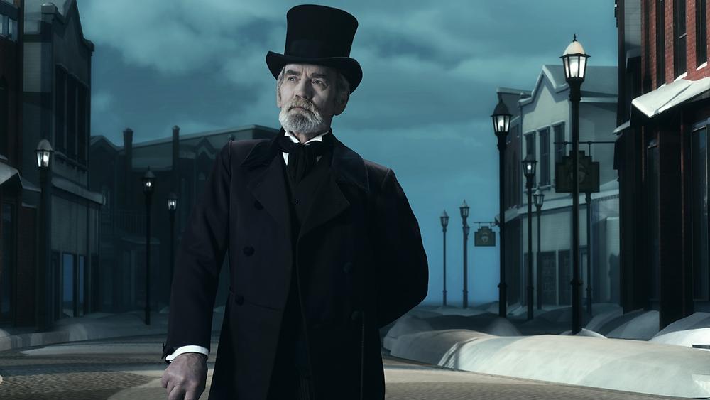 eine Weinachtsgeschichte Charles Dickens Scrooge