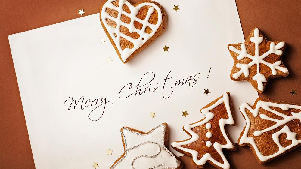 Weihnachtsfeier Einladung virtuell Karte