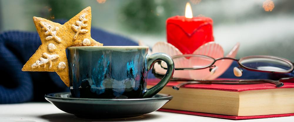To-Do-Liste, Weihnachten, Tasse, Ruhe, Lesen