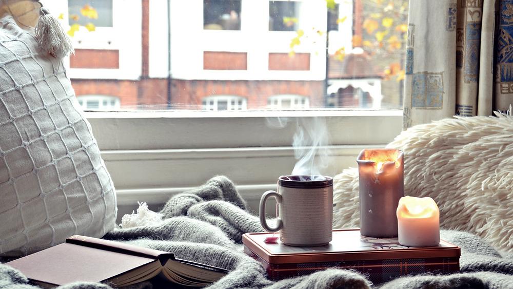 gemütlich Tee trinken