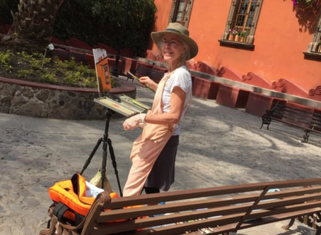 Art is Thriving in Sunny San Miguel, MX