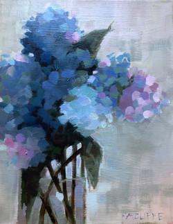 "Blue Beauties 11""x14"" | $325"