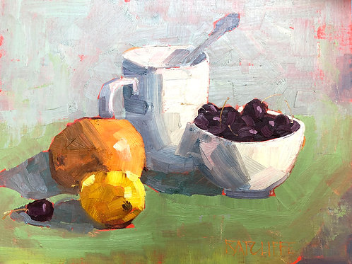 Cherries Still Life
