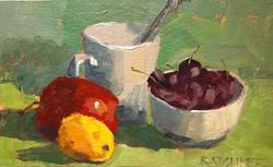Fruitful Still Life 11x6 | $75
