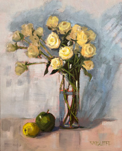 Yellow Roses 16x20 | $640
