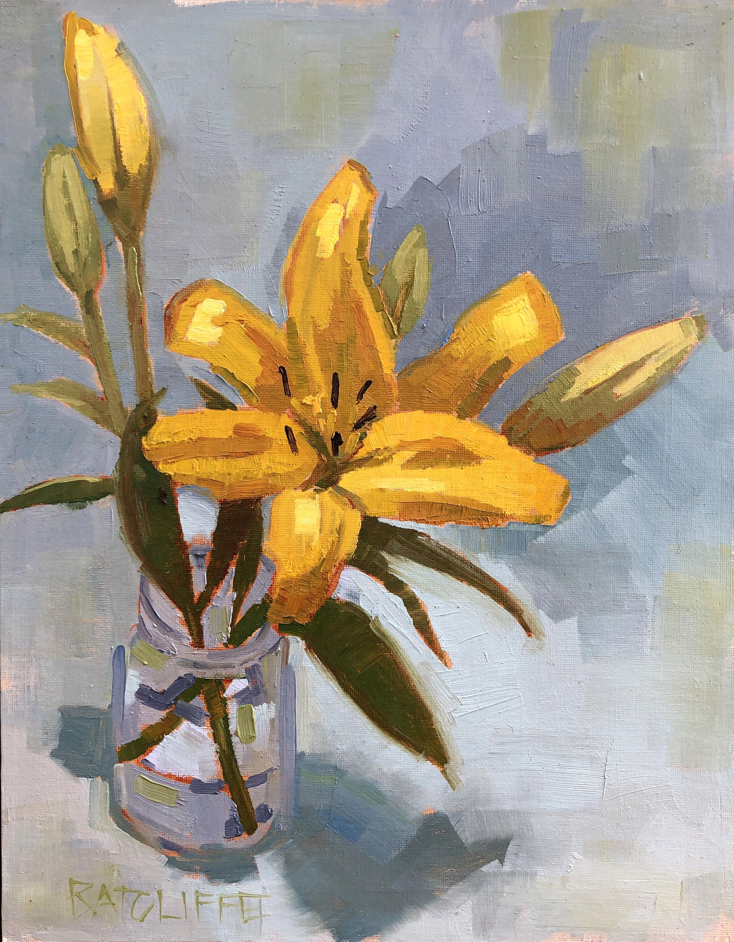 "Lillies 4 14""x11"" | $250"