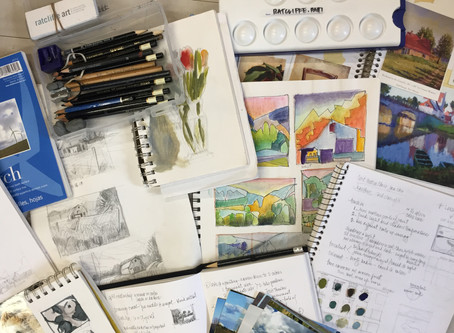 Want to Be More Creative?                Start with a Sketchbook
