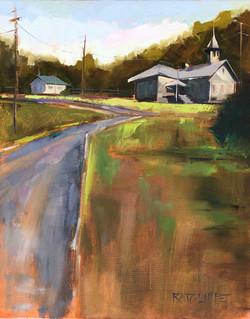 "Road Less Traveled 16""x20"" | $580"