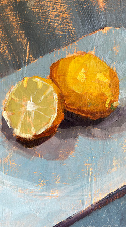 "Lemony 11""x6"" | $75"