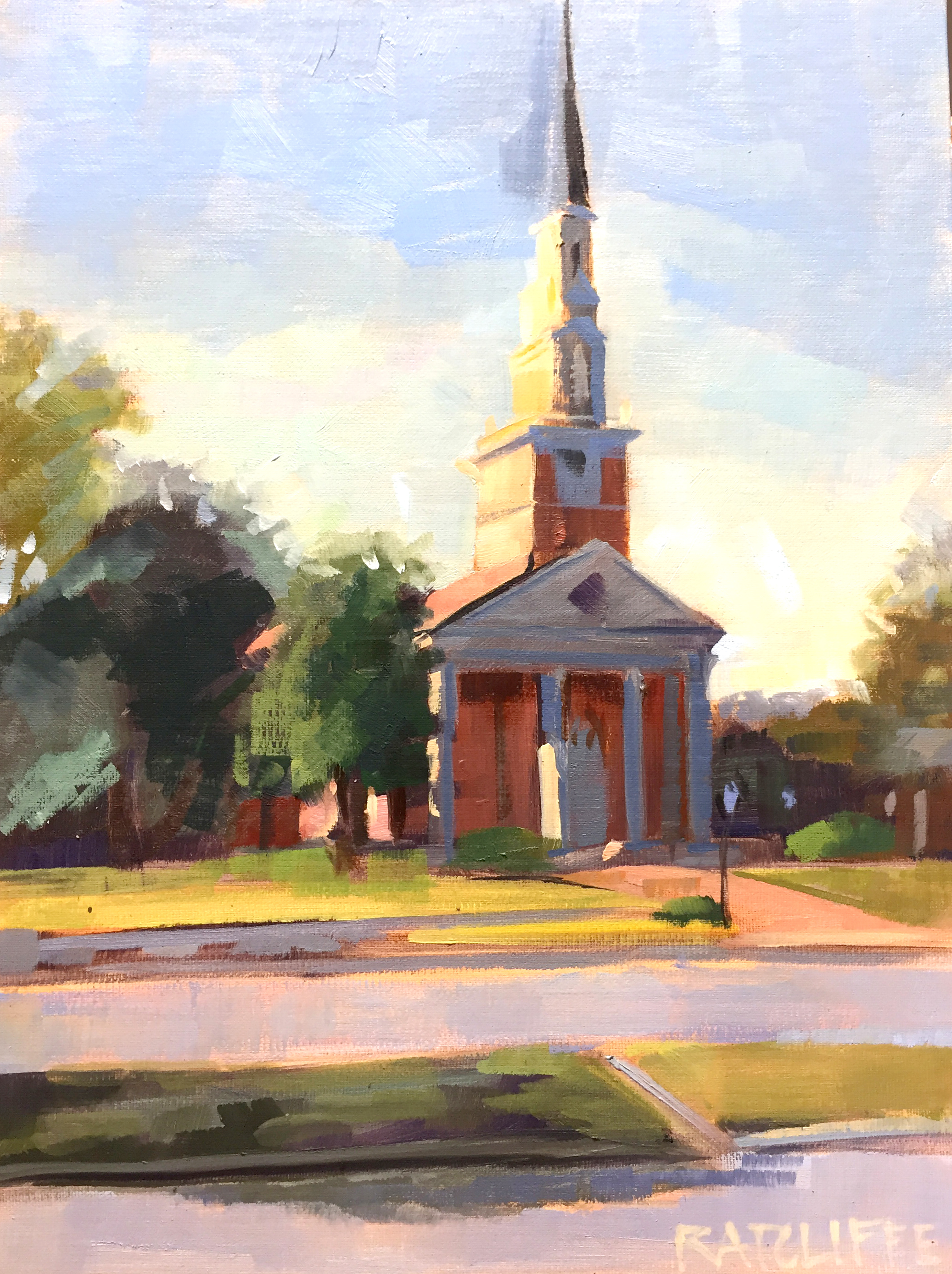 Trinity Presbyterian 9x12 | $290
