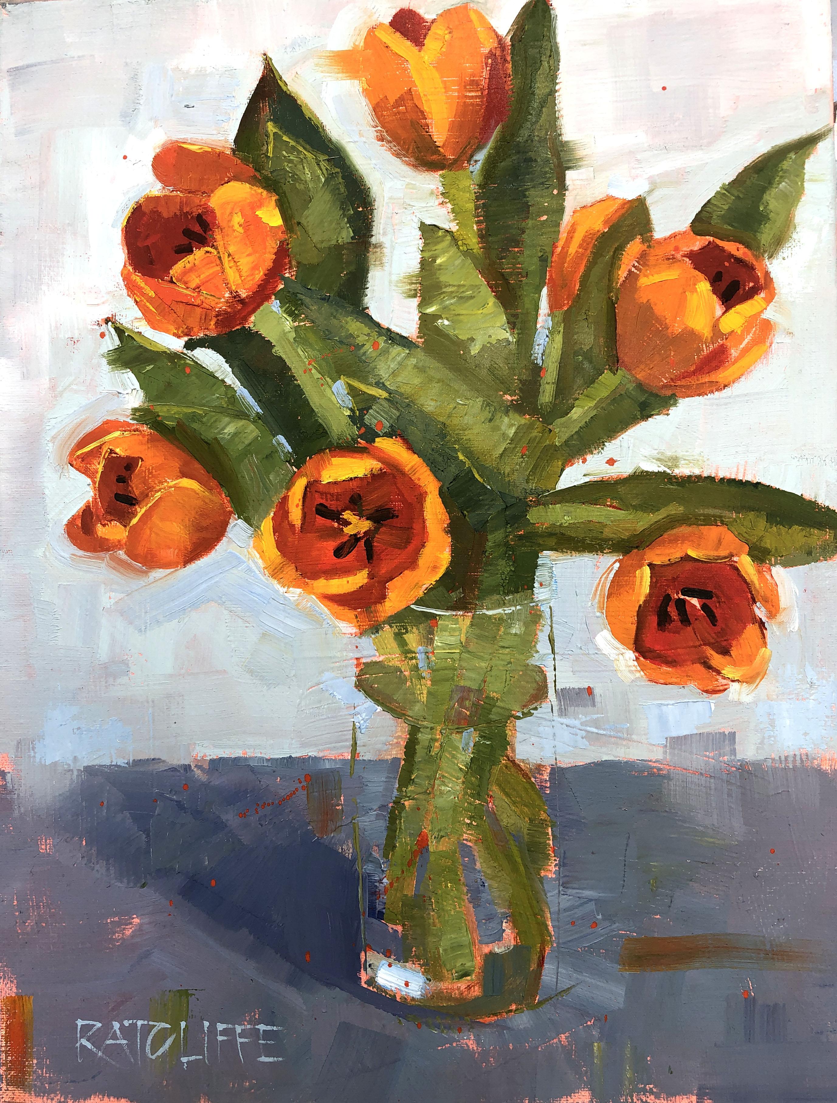 "Tulips IV 16""x12"" | $295"