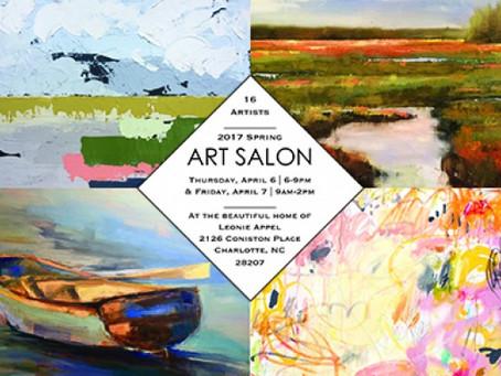 Ratcliffe Art Participates in Charlotte's Spring Art Salon