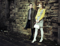 Mod Scarf and Pinafore