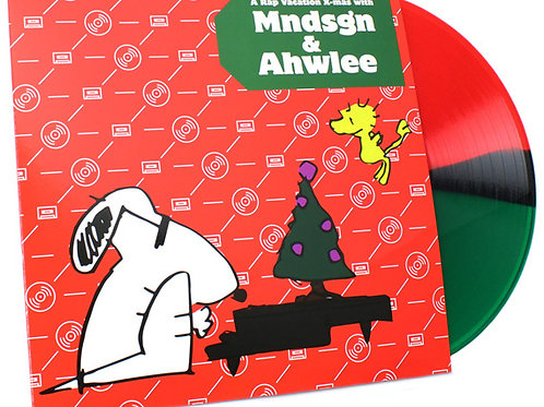 a rap vacation x-mas w/ mndsgn and ahwlee (vinyl)
