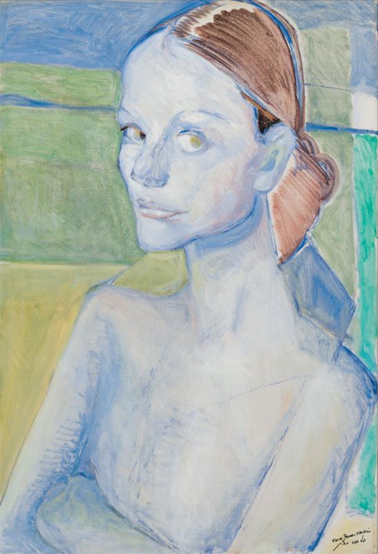 אישה חיוורת