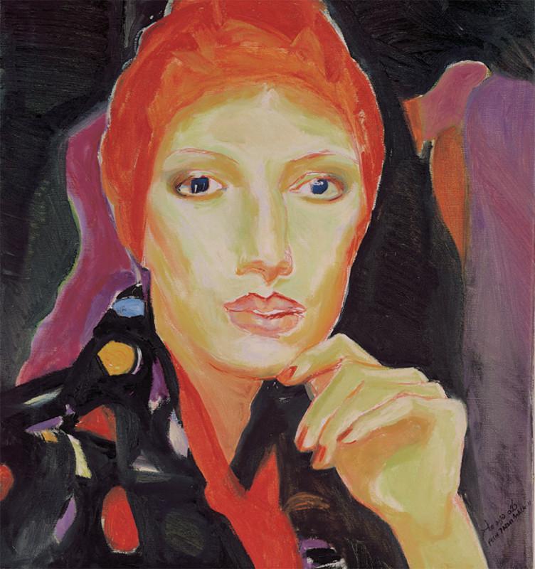 אישה עם טורבן 2