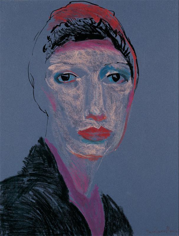 אישה עם טורבן 1