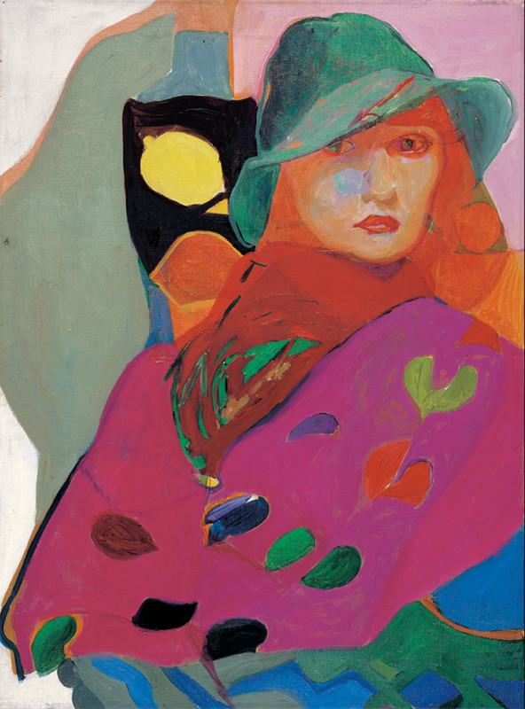 אישה עם לימון