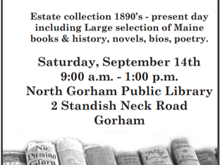 Book Sale - Large Estate Collection