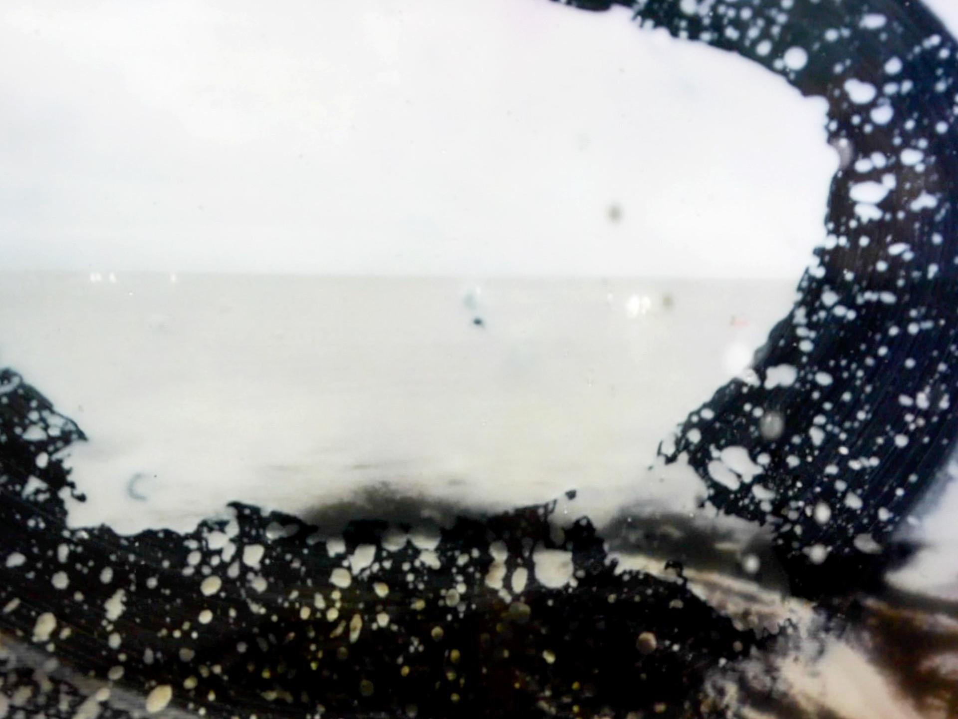 Wobbling in a milky sea