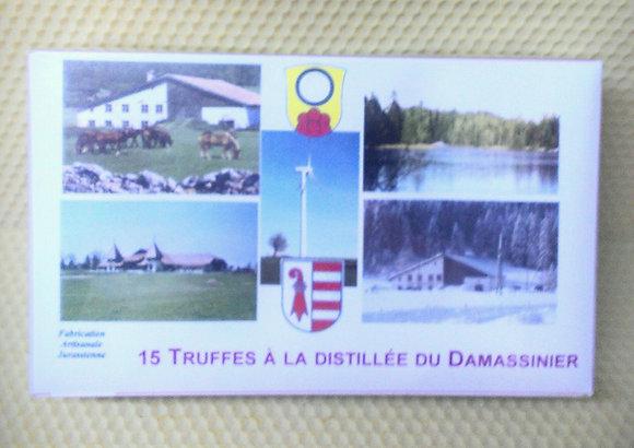 Truffes à la distillée de Damassine