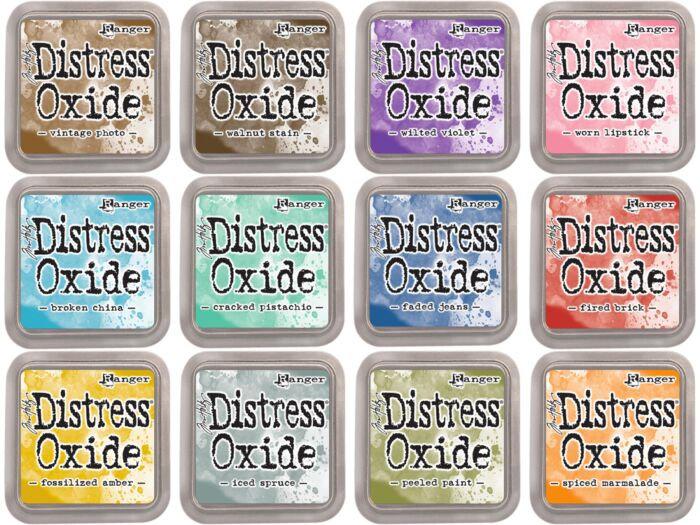 Distress Oxide Inks ~ Ranger