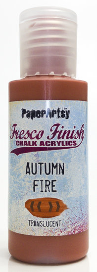 Autumn Fire ~ Fresco Finish Chalk paint