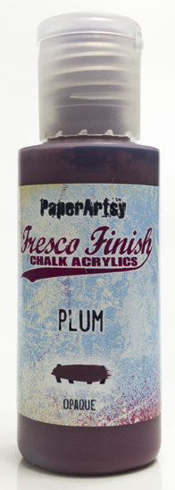 Plum ~ Fresco Finish Chalk paint
