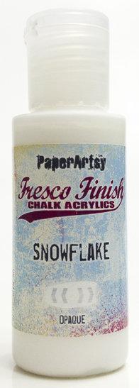 Snowflake ~ Fresco Finish Chalk paint