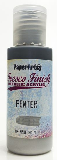 Pewter ~ Fresco Finish Chalk paint