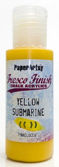 Yellow Submarine ~ Fresco Finish Chalk paint