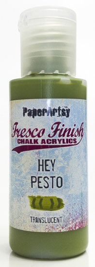 Hey Pesto ~ Fresco Finish Chalk paint