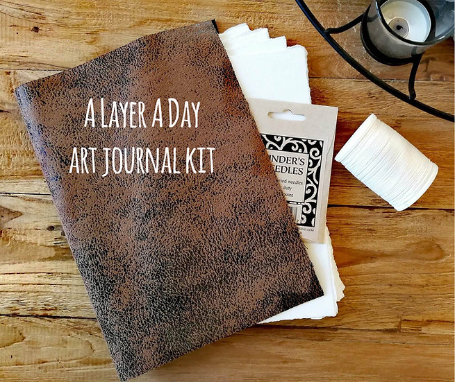 A Layer A Day Art Journal kit