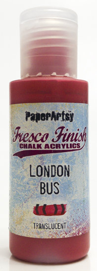 London Bus ~ Fresco Finish Chalk paint