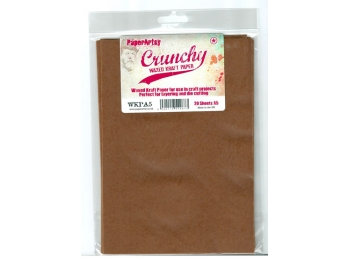 Crunchy waxed craft paper ~ Paperartsy