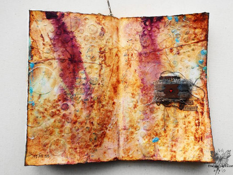 Journal on Monday: week 118, a Mixed Media Place edition