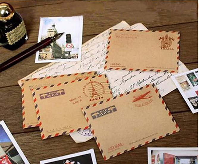 Mini vintage envelopes